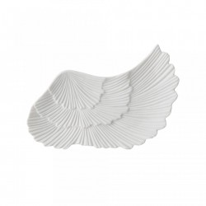 Tava alba din portelan 21x10 cm Wing Bloomingville