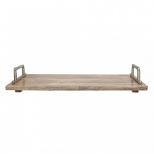 Tava maro din lemn de salcam 30x51 cm Alvina Bloomingville
