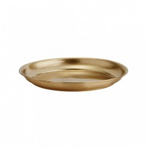Tava rotunda din alama 13 cm Jeny Brass Madam Stoltz