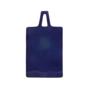 Tocator albastru din ceramica 30x17 cm Cobalt HK Living