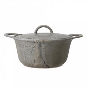 Vas pentru sevire gri din ceramica 1 L Kendra Bloomingville