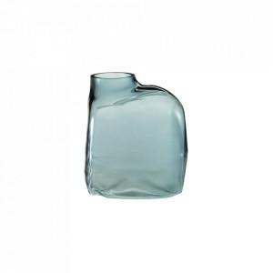 Vaza albastra din sticla 31 cm Bronco Dark Large Bolia