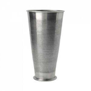 Vaza argintie din aluminiu 20 cm Arti House Doctor