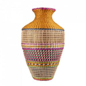 Vaza decorativa multicolora din bambus 42 cm Katy Versmissen