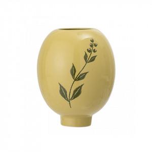 Vaza galbena din ceramica 15 cm Grass Bloomingville