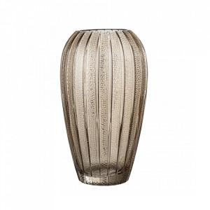 Vaza maro din sticla 25 cm Style Bloomingville
