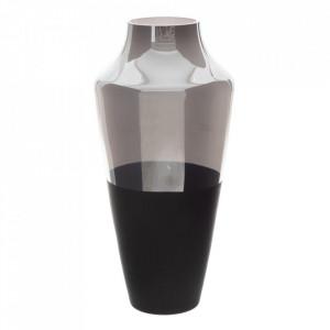 Vaza neagra/gri din sticla 50 cm Vandy Ixia