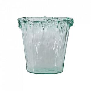 Vaza transparenta din sticla 26 cm Carla Vical Home