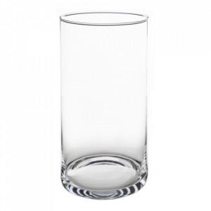 Vaza transparenta din sticla 30 cm Jania Ixia