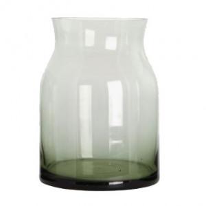 Vaza verde din sticla 15 cm Ruby House Doctor