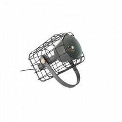 Veioza din metal negru Cage White Label