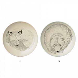Farfurie din ceramica 25 cm Adelynn Bloomingville