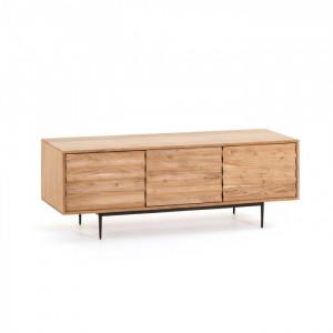 Comoda TV din lemn si metal 147 cm Delsie La Forma