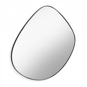 Oglinda iregulata neagra din metal 90x93 cm Anera La Forma