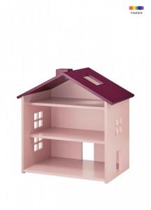 Decoratiune roz din MDF pentru copii House Nofred