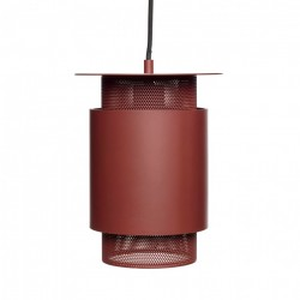 Lustra rosie din metal Cortez Hubsch