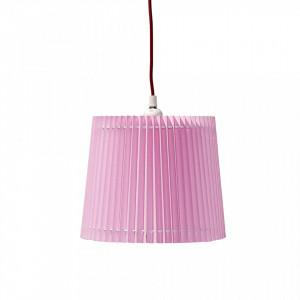 Lustra roz din PVC si bumbac Dina Pink Bloomingville