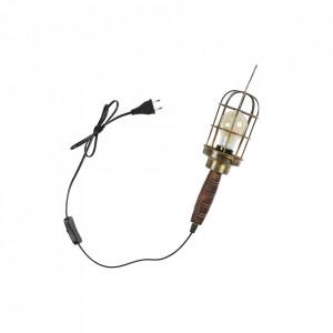 Aplica din metal si alama Mine Lamp Antique Brass Be Pure Home