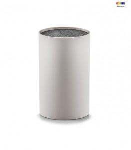 Suport gri/negru din plastic pentru cutite Knife Bristle Grey Zeller