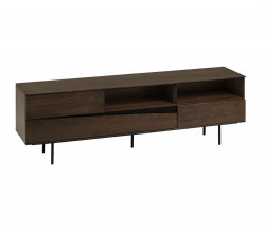 Comoda TV maro din lemn 180 cm Cutt La Forma