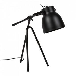 Lampa birou neagra din metal 60 cm Otos Somcasa