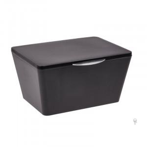 Cutie neagra din elastomer termoplastic cu capac Nalini Wenko