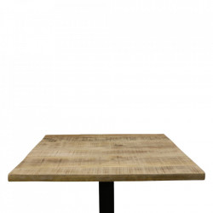 Blat maro din lemn de mango 70x70 cm Vintage Raw Materials