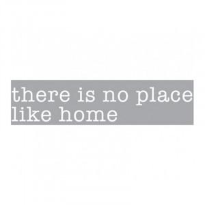 Decoratiune luminoasa alba din sticla Neon Art There Is No Place Like Home Seletti
