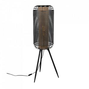 Lampadar negru/auriu din fier 111 cm Archer Dutchbone