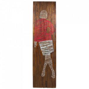 Decoratiune de perete din lemn de mango 51x83 cm Avia Santiago Pons