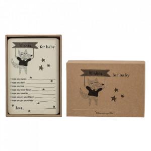 Set 18 etichete din hartie Baby Wishes Bloomingville