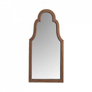 Oglinda maro din lemn 60x120 cm Justyne Vical Home