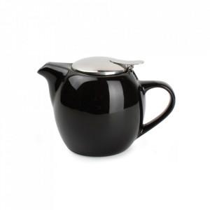 Ceainic negru din ceramica si inox 500 ml Camellia Aerts