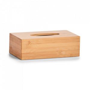 Cutie maro din lemn pentru servetele Paul Zeller