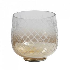 Vaza transparenta din sticla 21 cm Heirloom Be Pure Home