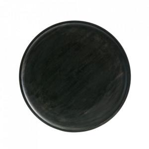 Tava rotunda maro din lemn 25 cm Discus Be Pure Home