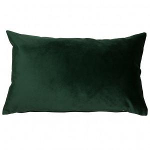 Perna decorativa dreptunghiulara verde din catifea 30x50 cm Velia Santiago Pons
