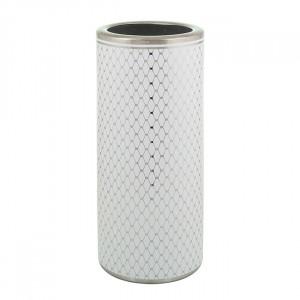 Suport alb/argintiu din ceramica pentru umbrele Tenas Santiago Pons