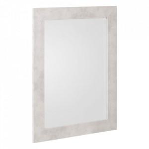 Oglinda dreptunghiulara gri din MDF 66x86 cm Dina Ixia