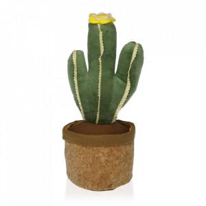Opritor usa verde/maro din textil Cactus Plant Versa Home
