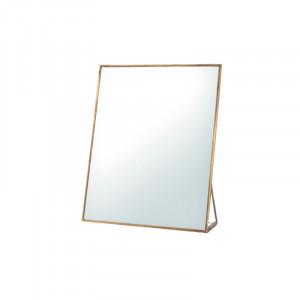 Oglinda de masa dreptunghiulara din fier 13x18 cm Figo Lifestyle Home Collection
