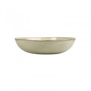 Platou bej nisipiu din ceramica pentru servire 33 cm Enzo Lifestyle Home Collection