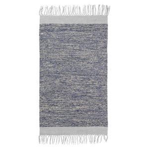 Covor din bumbac albastru 100x60 cm Melange Ferm Living