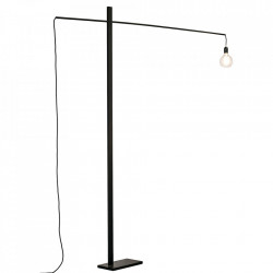 Lampadar negru din fier 201 cm Flamingo Serax