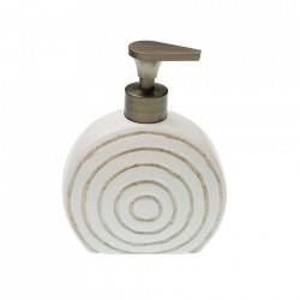Dispenser sapun lichid alb din ceramica 13x16,5 cm Roound Versa Home