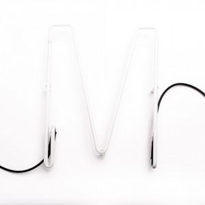 Lampa neon litera M 1580 mm Alphafont Seletti