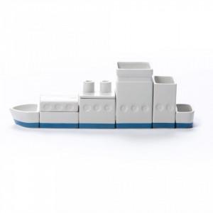 Set pentru organizarea biroului 33×6.5cm Desktructure The Ship Seletti