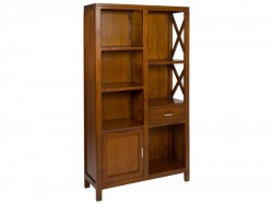 Biblioteca din lemn mindi 180 cm Raditya Santiago Pons
