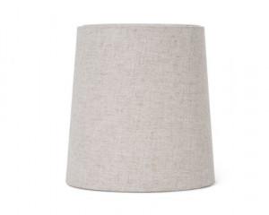 Abajur crem din textil pentru veioza 27,5 cm Hebe Medium Natural Ferm Living