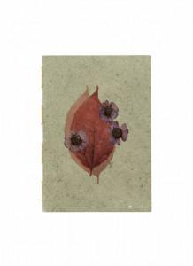 Agenda multicolora din hartie 14,5x21 cm Flora Small Dusty Nordal